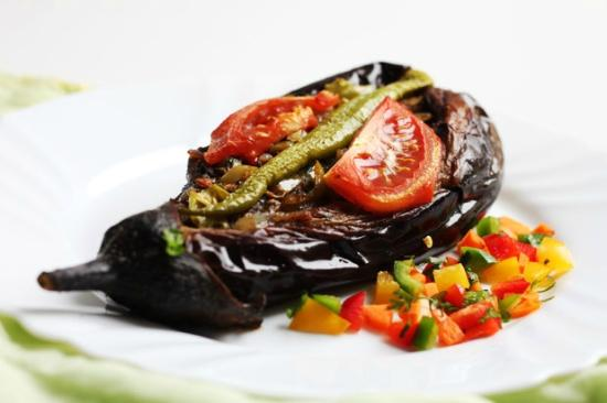 AUBERGINE A L'HUILE D'OLIVE