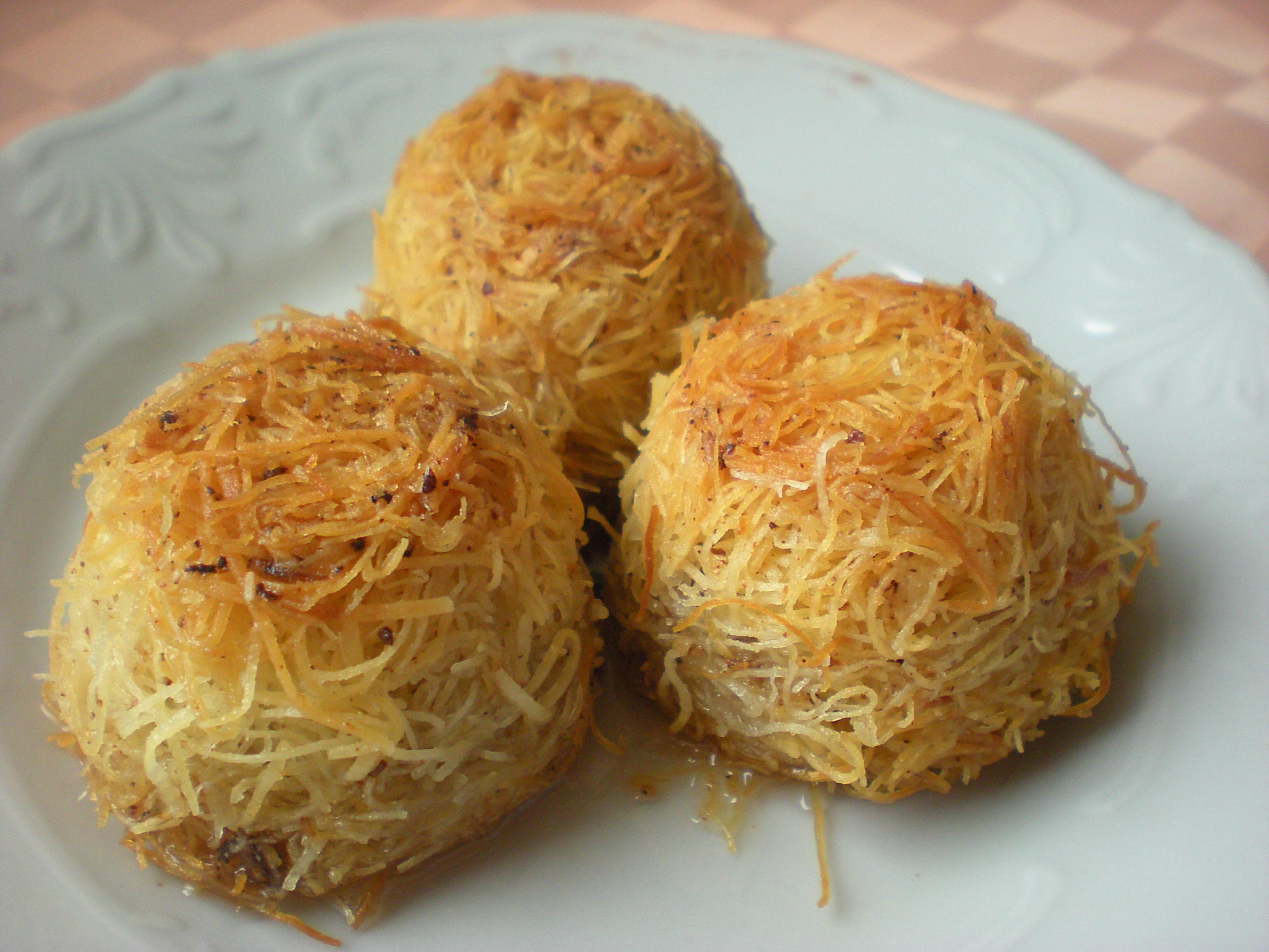 Tel kadayif au semoul cuisine for Cuisine turque